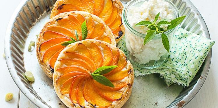 Coup de cœur blog : la tartelette aux abricots