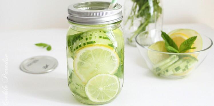 Detox water, la nouvelle boisson healthy !