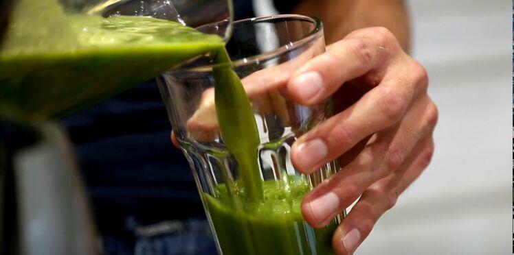 Frédérick Bousquet : sa recette de jus vert