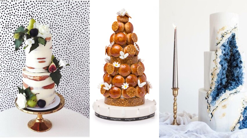 Gâteau de mariage : toutes nos idées tendances