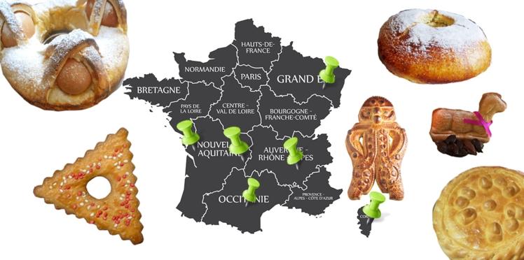 Gâteaux de Pâques de nos régions