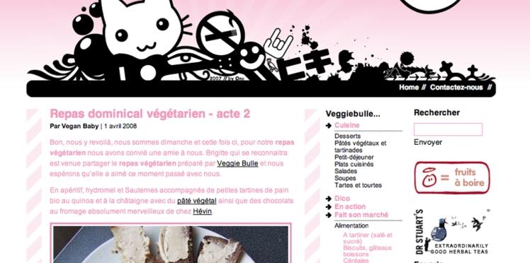 La bulle des nourritures végétariennes