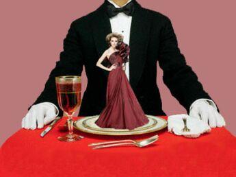 La haute couture passe à table