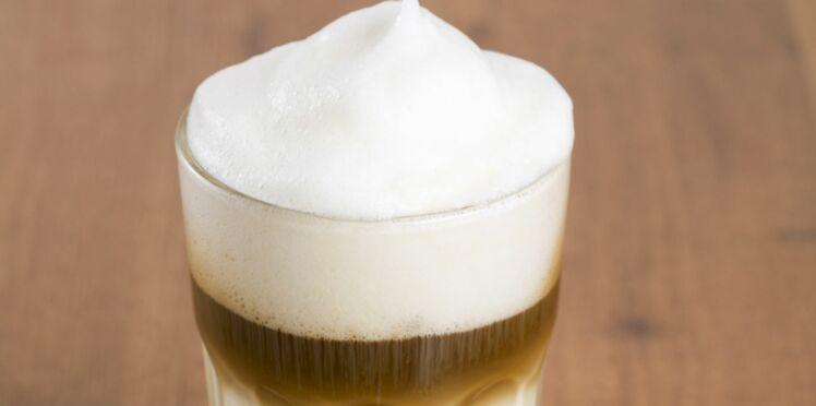 La recette du Latte Macchiatto caramel à l'eau filtrée
