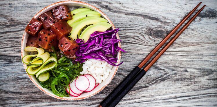 Le Poke bowl, la nouvelle tendance healthy venue d'Hawaï
