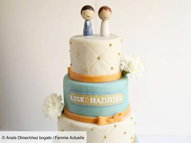 Des Wedding Cakes A Tomber Femme Actuelle Le Mag
