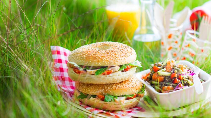 Nos recettes idéales pour un pique-nique au soleil