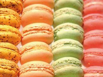 Régal de macarons…  et bonne action !