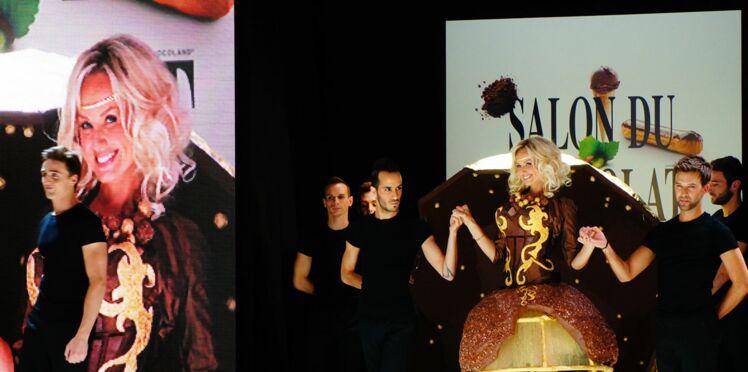 Salon du chocolat : le défilé des robes 2012