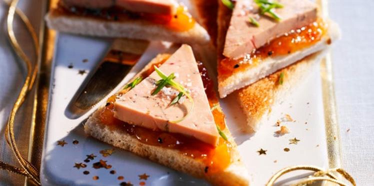 Apéro de fête : nos recettes de toasts pour Noël
