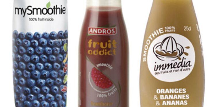 Comparatif de smoothies : le bon mix