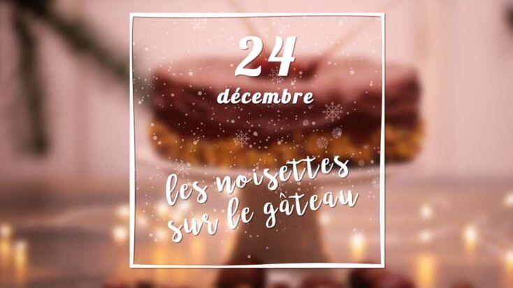 VIDEO – Des noisettes caramélisées pour décorer le dessert de Noël