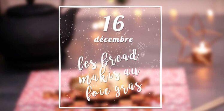 VIDEO - Des petits roulés au foie gras pour l'apéritif de Noël