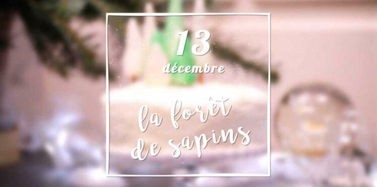 VIDEO - Des sapins en pâte d'amande pour décorer votre dessert de Noël