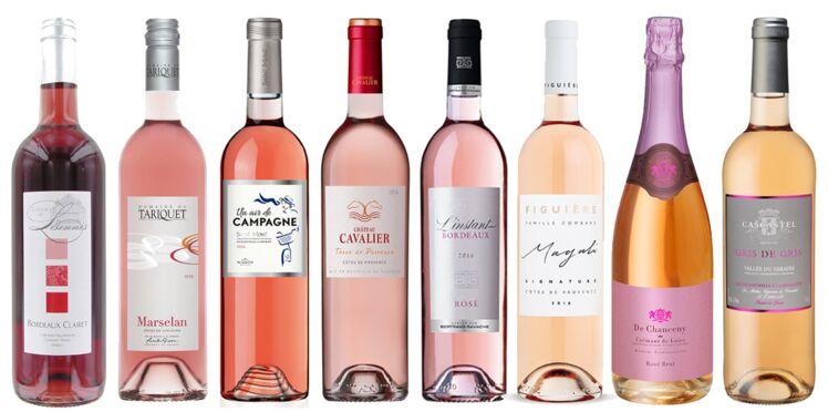 8 vins rosés à moins de 10 euros pour l'été