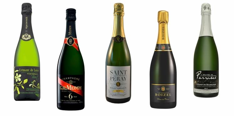 Champagne et Crémant, les bulles de Noël