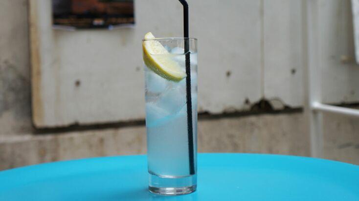 Vidéo : un Gin fizz en 2 minutes chrono !