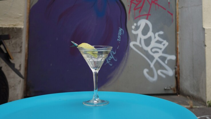 Le cocktail Vesper martini comme James Bond