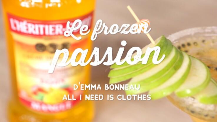 Le cocktail Frozen Passion pour vos apéros