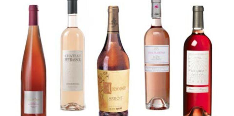 Notre sélection de vins rosés pour l'été