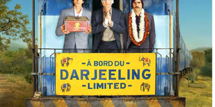 """Gagnez 100 places de cinéma pour """"A bord du Darjeeling Limited"""""""
