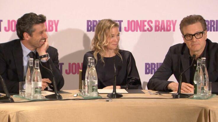 Bridget Jones Baby : l'interview de Patrick Dempsey, Renée Zellwegger et Colin Firth