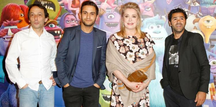 Vidéo : Catherine Deneuve, Jamel Debbouze et Eric Metayer stars de Monstres academy