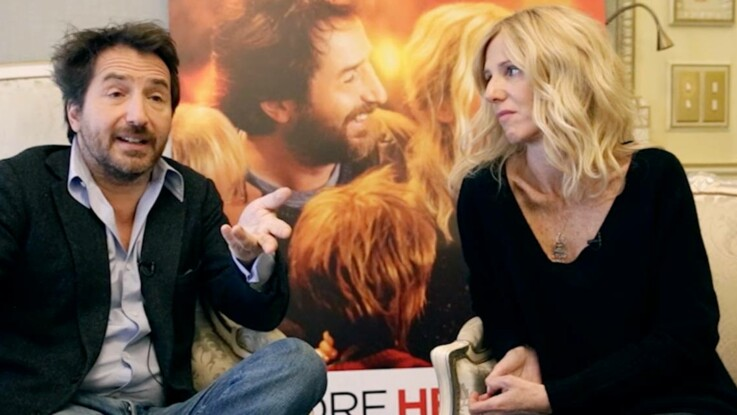 Encore heureux : interview d'Edouard Baer et Sandrine Kiberlain