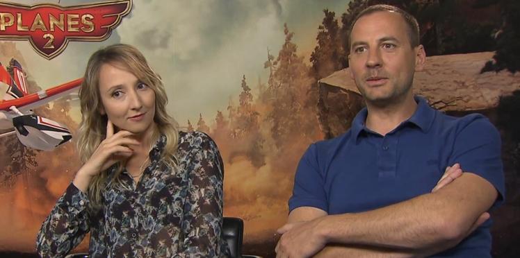 Planes 2 : découvrez l'interview déchaînée de Fred Testot et Audrey Lamy