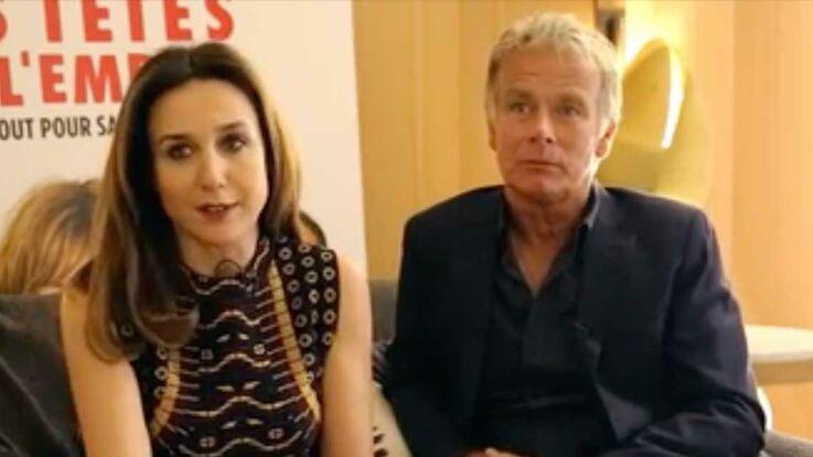"""Vidéo : rencontre avec Franck Dubosc et Elsa Zylberstein convaincus qu'il y a """"une tête de l'emploi"""""""