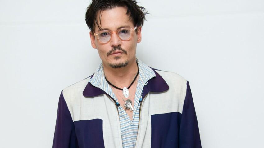 """Johnny Depp : """"Vanessa Paradis, je l'aime et elle m'aime encore"""""""