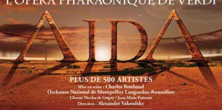 Aïda, de Verdi s'invite au Stade de France