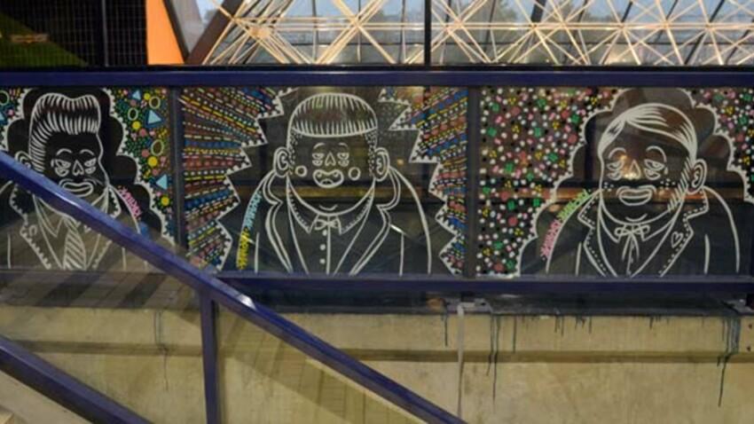 L'art de la rue investit Bercy à l'occasion des Masters de tennis