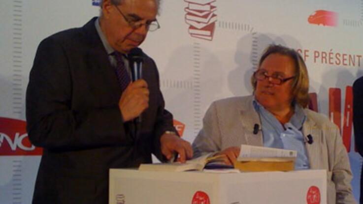 Rencontre avec Gérard Depardieu autour d'un livre