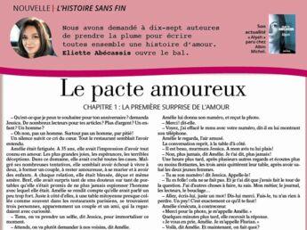 """Inédit: Histoire sans fin """"Le pacte amoureux"""" chapitre 1 par Eliette Abécassis"""