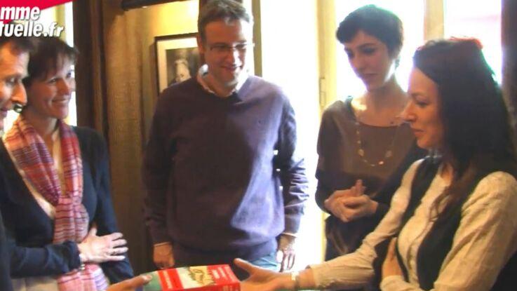 Vidéo : remise des prix du roman Femme actuelle aux gagnants