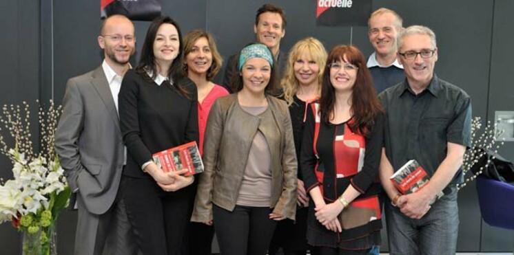 Remise des prix du roman Femme Actuelle 2012