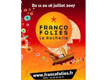 Le Festival des Francofolies à La Rochelle