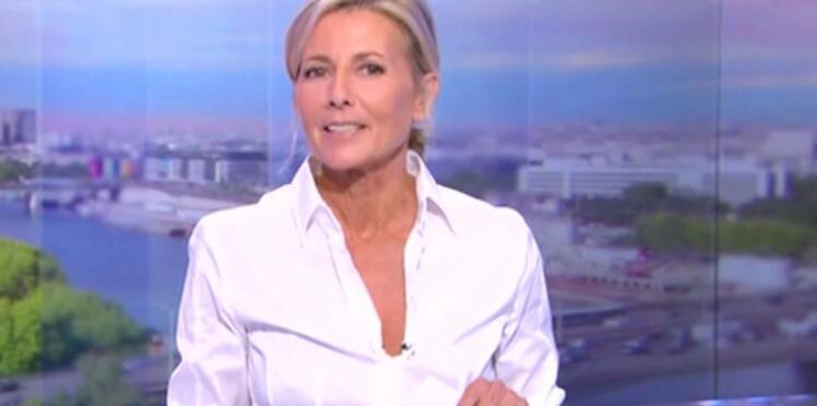"""Vidéo : Claire Chazal, ses adieux et son """"immense"""" tristesse pour son dernier JT"""