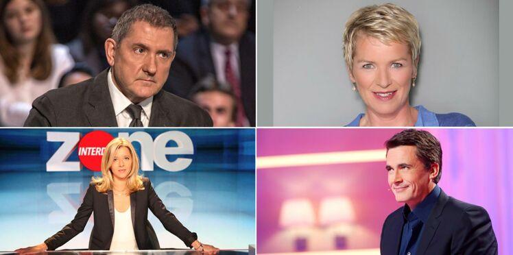 Rentrée télé 2016 : les animateurs qui changent de chaîne ou perdent leurs émissions