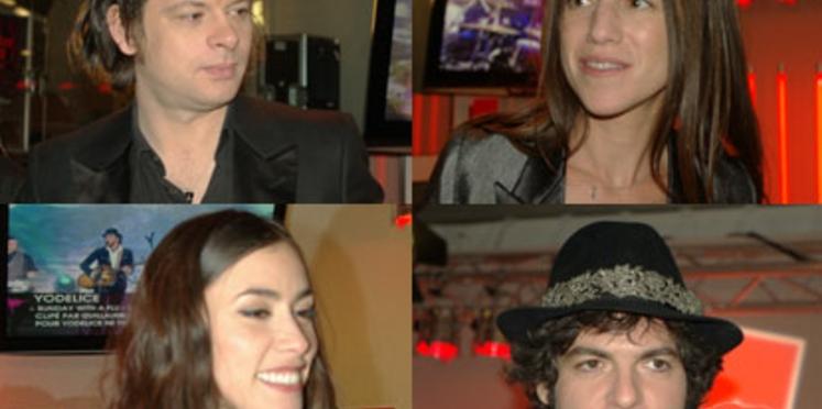 Victoires de la musique 2010 : les photos des artistes en coulisses