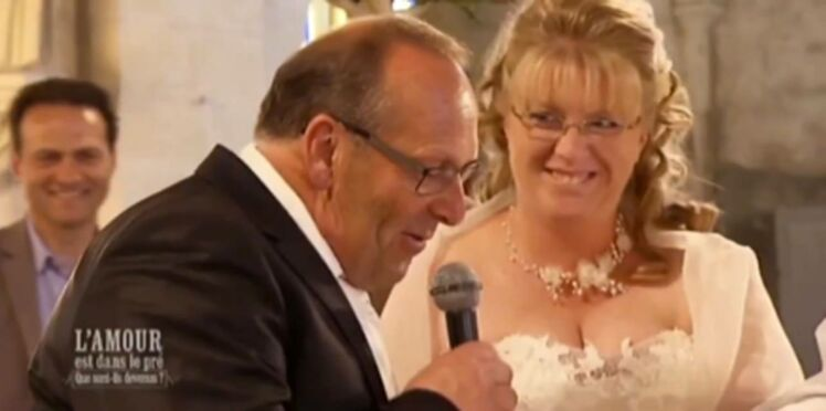 Zapping télé : en images, le mariage de Thierry dans L'amour est dans le pré