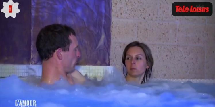"""Zapping téléréalité : Jacuzzi chaud bouillant dans """"l'Amour est dans le pré"""""""
