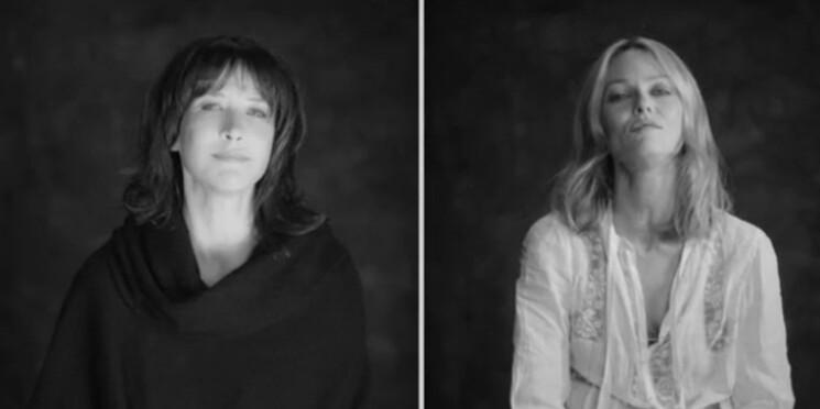 """Les Enfoirés : Sophie Marceau et Vanessa Paradis chantent la """"Liberté"""""""