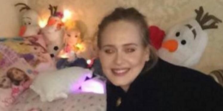 Adele rend une visite surprise à une petite fille mourante