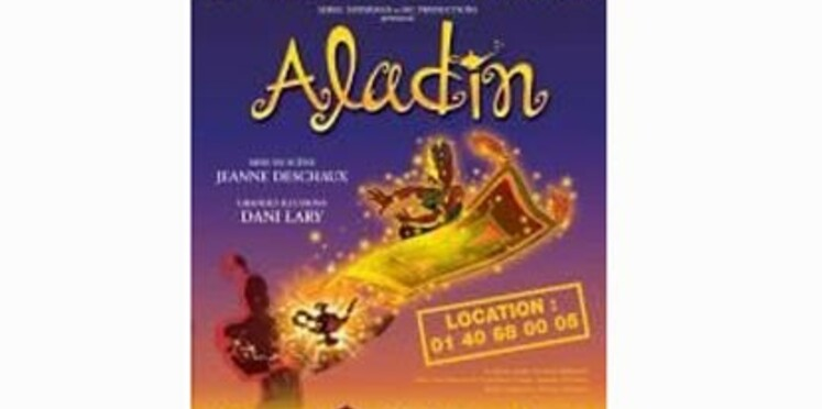 Aladin s'installe au Palais des Congrès