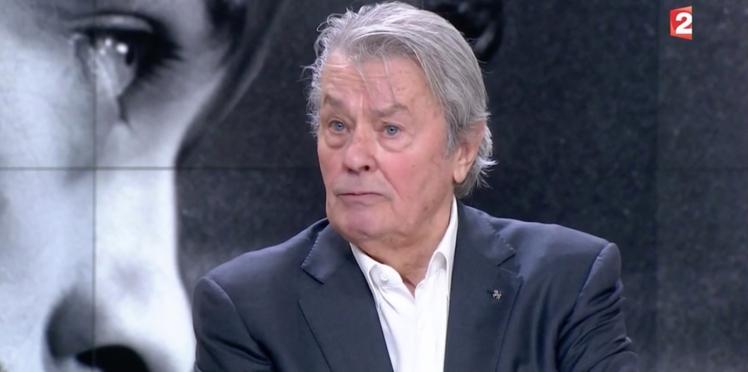 VIDÉO - Alain Delon souhaite tourner avec Sophie Marceau, avant de mourir