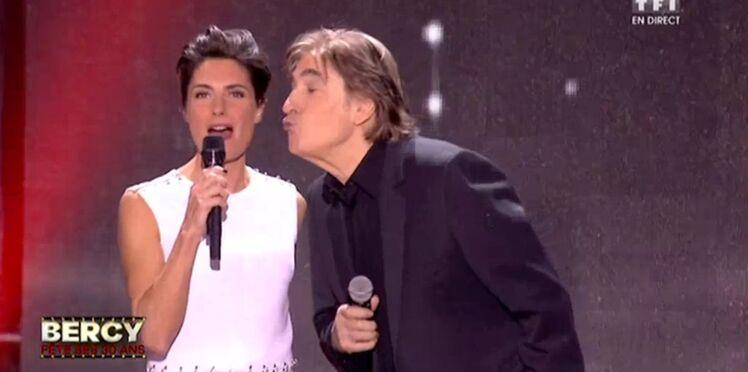 Quand Alessandra Sublet met un (énorme) vent... à Serge Lama