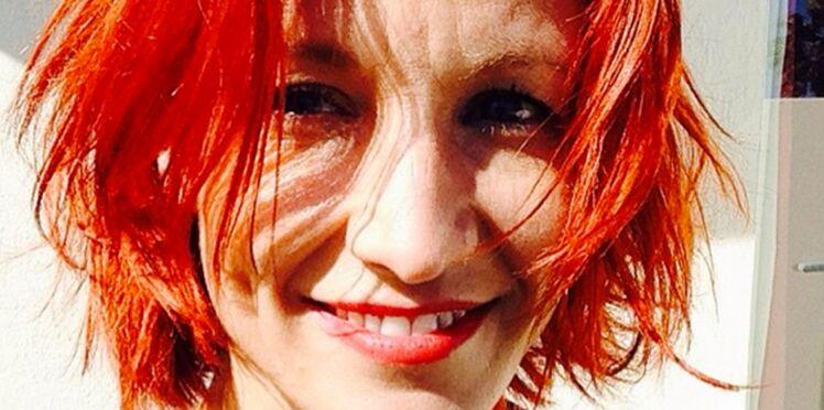 Alexandra Lamy passe au roux flamboyant