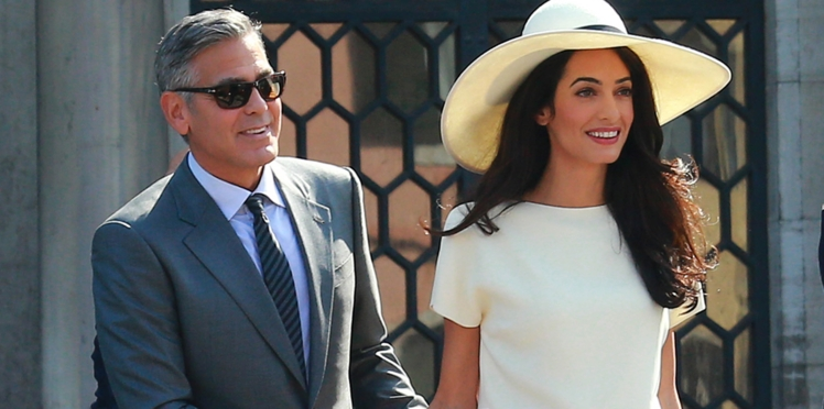 George Clooney et Amal Alamuddin futurs parents ?